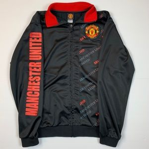 Manchester United Official Zip-Up Jacket Small